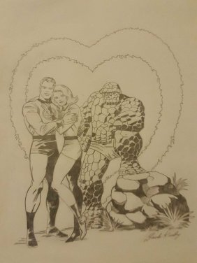 Fantastic Four By Jack Kirby -signed