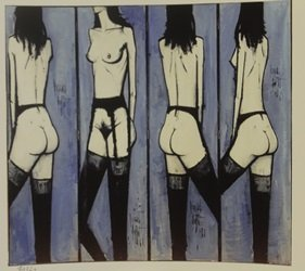 The Line Up - Lithograph - By Buffet