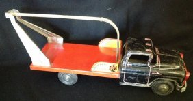 1950's Marx Lumar Machinery Moving Truck