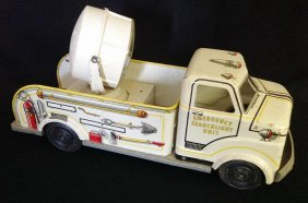 1950's Marx Lumar Litho Search Light Truck