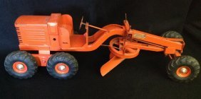 1940's/50's Doepke Adams Road Grader Toy