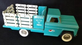 1960's Structo Farms Stake Truck Toy