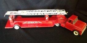 1960's Structo Hook & Ladder Fire Truck