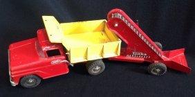 1962-69 Tonka Dump Truck & Sand Loader