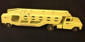 Late 50's Tonka Motor Transport Car Hauler