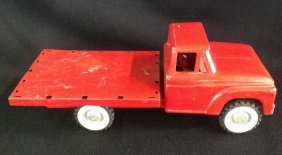 1960's Structo Flatbed Stake Truck