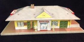 1950's Glendale Litho Train Station