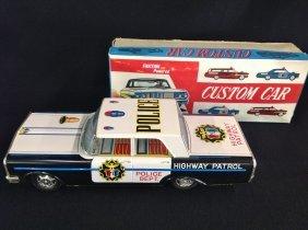 1960's Police Dept. Highway Patrol Car