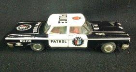 1960's Police Dept. Patrol Car No. 110