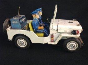 1950's/60's Police Patrol Jeep No. 3