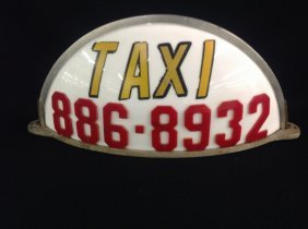 1950's/60's Taxi Topper