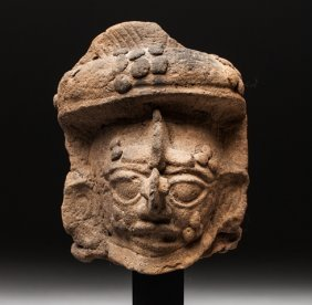 Maya Priest Head