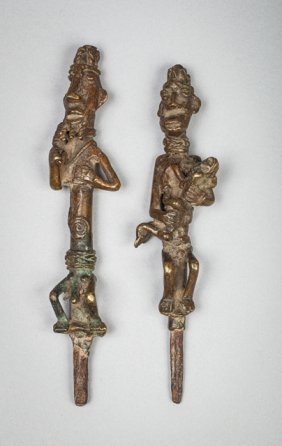 Pair Of Ogboni Spins