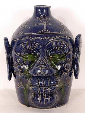 Edwin Meaders Voodoo Jug #6.