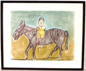 S.L. Jones. Mounted Horse