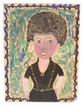Albert Freeman. Lady In Black