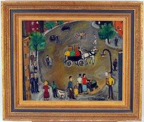 Ben Eisner. Circular Street Scene