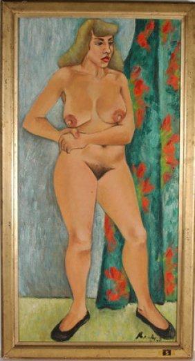 Robert Brady. Standing Nude.