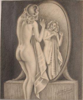 Teofilo Magliocchi. Looking In The Mirror.