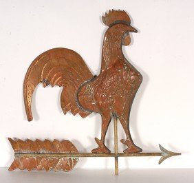 Rooster Weathervane.