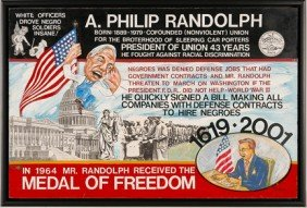 Mr. Ed Welch. A. Philip Randolph.