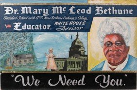 Mr. Ed Welch. Dr. Mary McLeod Bethune.