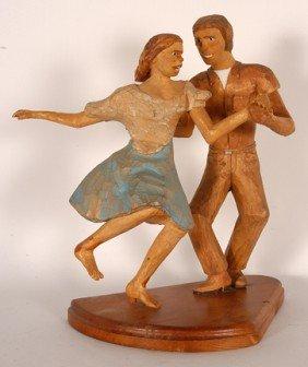 Charles M. Paulsen. Couple Dancing.