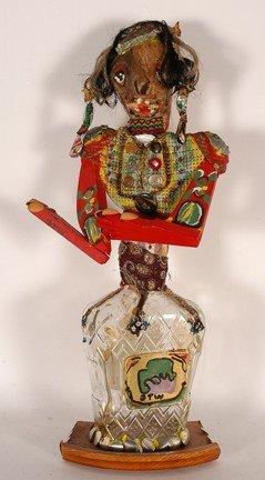 Derrick Webster. Crown Royal Bottle Figure.
