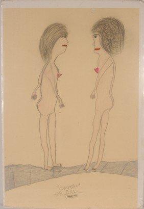 Creative G.C. DePrie. 2 Young Nude Women.