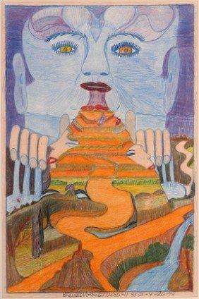Braulio Diaz. Stairway To Blue God.