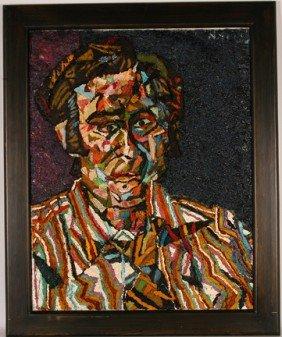 Nicholas Sperakis. Man's Portrait.