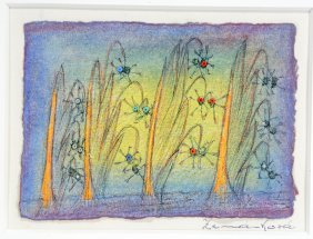 Anna Zemankova. Untitled (flowers With Beads).