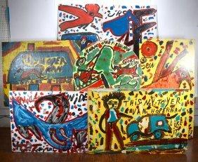 Willie Jinks. Seven Large Works.