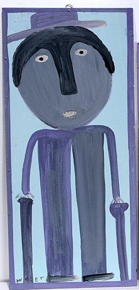 Mose Tolliver. Self-portrait
