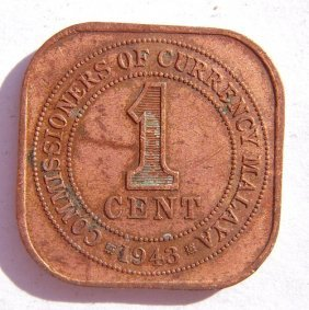 Metal Coin - 1 Cent.