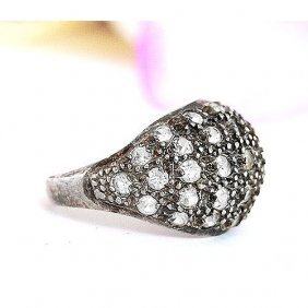 Antiquarian Ring Made From Silver, 835 Plate Mark