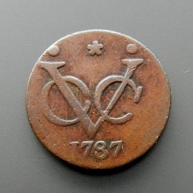 Bronze Coin From 1787 - Holland.