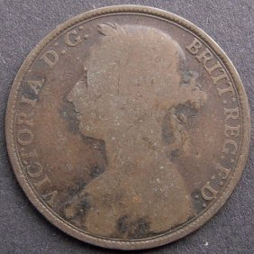 Bronze Coin - One Penny