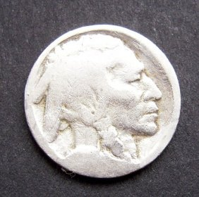 Indiana Head - 5 Cents Coin From America. Very Go