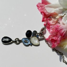 Lia Sophia Design Necklace With Pendant Made From