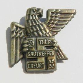 Germany Iii Reich Medal Gau Meeting In Erfurt Ci