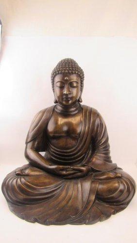 Chinese Bronze Of Buddha