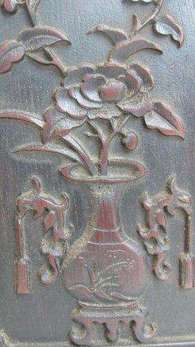 Old Sandalwood Carving Quartet Pen