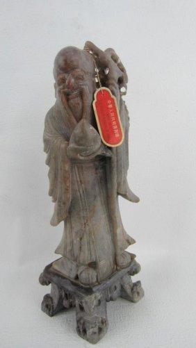 Soapstone Fortune Figurine