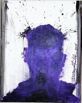 """shadowman"" Painting By Richard Hambleton"