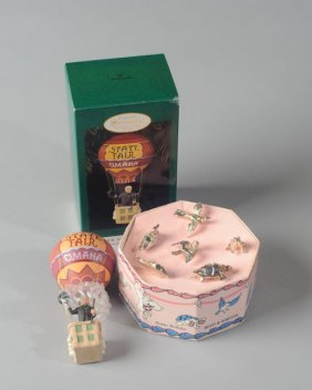 Reed And Barton Child's Birthday Candle Set