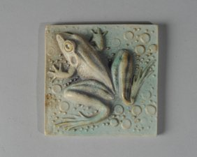 Natalie Surving Decorative Ceramic Art Tile