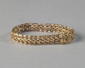 Mesh Bracelet Marked 14k Italy