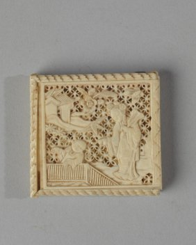 Early Asian Ivory Puzzle