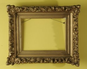 Small Antique Gilded Frame